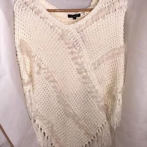 Love Culture Hooded Poncho - size Large NWT